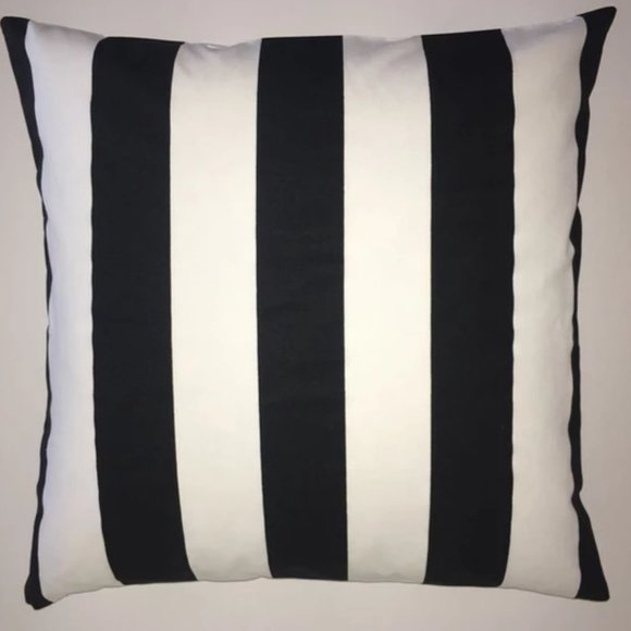 """23 x 23"""" Vertical Stripes Pillow Cover - NEW"""